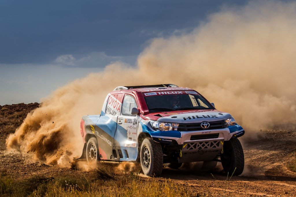 Joan Roma on a charge with Overdrive Racing in Baja Spain Aragon_