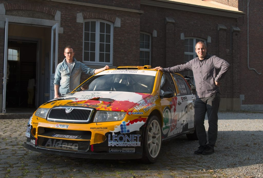 une skoda fabia wrc pour manu canal au condroz speed magazine. Black Bedroom Furniture Sets. Home Design Ideas
