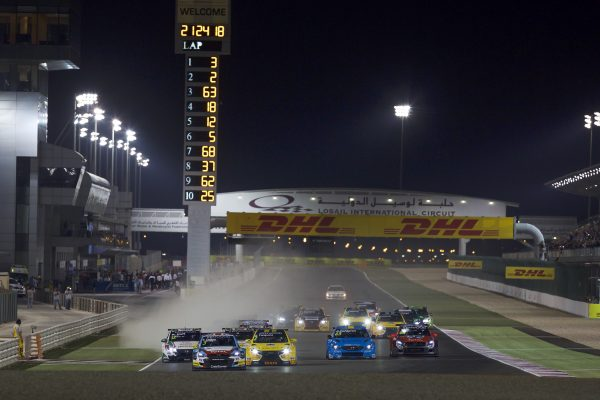 START during  2016 FIA WTCC World Touring Car Championship race at Losail  from November 23 to 25 Qatar - Antonin Grenier / DPPI