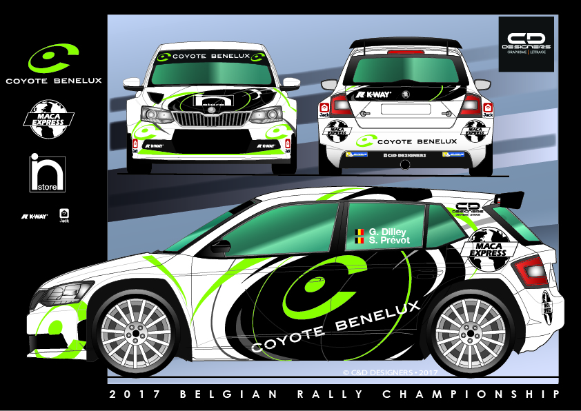 une skoda fabia r5 coyote pour guillaume dilley spa speed magazine. Black Bedroom Furniture Sets. Home Design Ideas